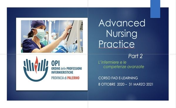 Corso FAD E-Learning ADVANCED NURSING PRACTICE Part 2 - copertina_parte_rid2_P.jpg